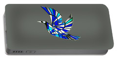 Portable Battery Charger featuring the digital art Wings by Asok Mukhopadhyay