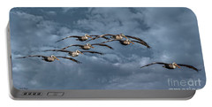 Wings In Formation Portable Battery Charger