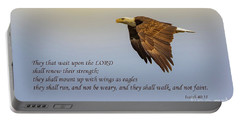 Wings Of Eagles Portable Battery Charger