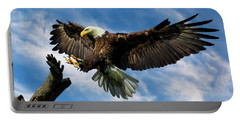 Wings Outstretched Portable Battery Charger