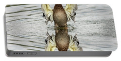 Wings Up Reflection  Portable Battery Charger