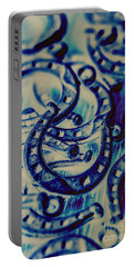 Winning Blue Country Tokens Portable Battery Charger