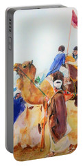 Winning Celebration Portable Battery Charger by Khalid Saeed