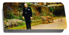 Winston Churchill, 1943 Portable Battery Charger