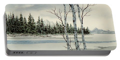 Winter Alders Portable Battery Charger