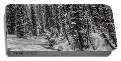 Winter Alpine Creek II Portable Battery Charger