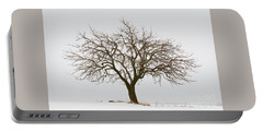 Winter Apple Tree Portable Battery Charger