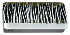 Winter Aspens II Portable Battery Charger by Michael Swanson