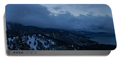 Portable Battery Charger featuring the photograph Winter At Diamond Peak by Sean Sarsfield