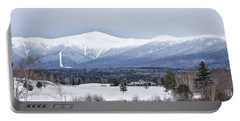 Winter At Mount Washington Portable Battery Charger by Tricia Marchlik
