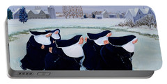 Winter At The Convent Portable Battery Charger