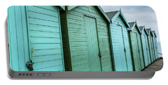 Winter Beach Huts IIi Portable Battery Charger