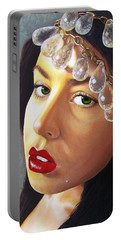 Winter Beauty Portable Battery Charger by Malinda  Prudhomme