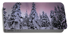Winter Beauty Portable Battery Charger by Sheila Ping