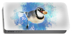 Winter Bluejay Portable Battery Charger