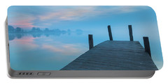 Portable Battery Charger featuring the photograph Winter Blues by Davor Zerjav