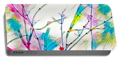 Winter Branch Colors Portable Battery Charger