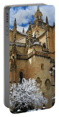 Winter Cathedral Portable Battery Charger