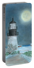 Winter Coast Portable Battery Charger by Troy Levesque