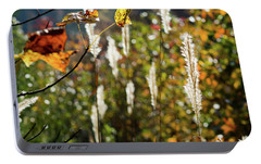 Portable Battery Charger featuring the photograph Winter Color by George Randy Bass