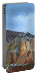 Winter Colors At Abiquiu Portable Battery Charger