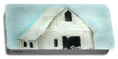 Winter Country Barn Portable Battery Charger
