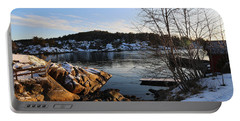 Winter Day By The Oslo Fjords, Norway.  Portable Battery Charger