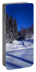 Winter Day Portable Battery Charger