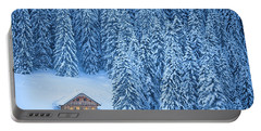 Winter Escape Portable Battery Charger by JR Photography