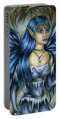 Winter Fairy Drawing Portable Battery Charger