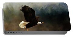 Winter Flight Portable Battery Charger by TnBackroadsPhotos