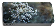 Winter Flower Portable Battery Charger