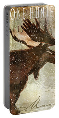 Winter Game Moose Portable Battery Charger