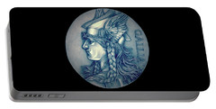 Winter Goddess Of Gaul Portable Battery Charger by Fred Larucci