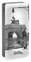 Winter Grand Army Plaza Portable Battery Charger