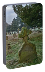 Portable Battery Charger featuring the photograph Winter Graveyard by Anne Kotan