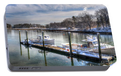 Portable Battery Charger featuring the photograph Winter Harmony by Adrian LaRoque