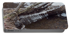 Winter Ice Dam Portable Battery Charger