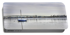 Winter In Annapolis Maryland Portable Battery Charger