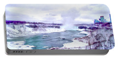 Winter In Niagara 1 Portable Battery Charger