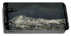 Winter In North Cascades Portable Battery Charger