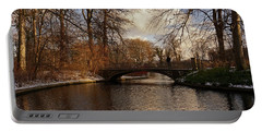 Portable Battery Charger featuring the photograph Winter In The Park- 365-277 by Inge Riis McDonald