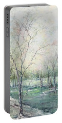 Winter Interlude Portable Battery Charger