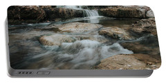 Winter Inthe Falls Portable Battery Charger