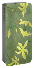 Winter Jasmine Portable Battery Charger