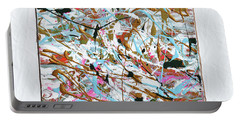 Winter Joy Portable Battery Charger by Donna Blackhall