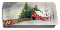 Winter Landscape IIi Portable Battery Charger