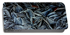 Winter Leaves Portable Battery Charger