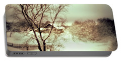Winter Loneliness Portable Battery Charger