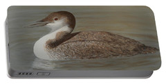 Winter Loon Portable Battery Charger